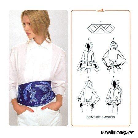 50 способов завязать платок! / как завязать платок