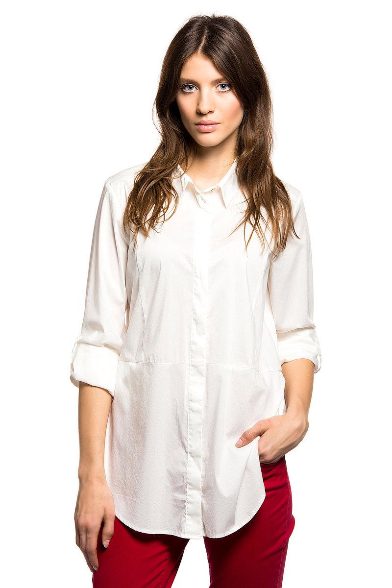 блузка Tom Tailor. нежно-белый купить за 3359р в официальном интернет магазине tom-tailor-online.ru с доставкой по России