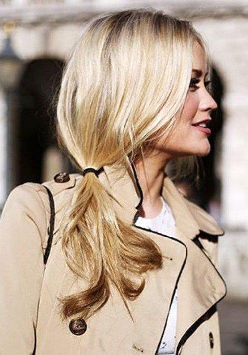 стильные прически блондинки