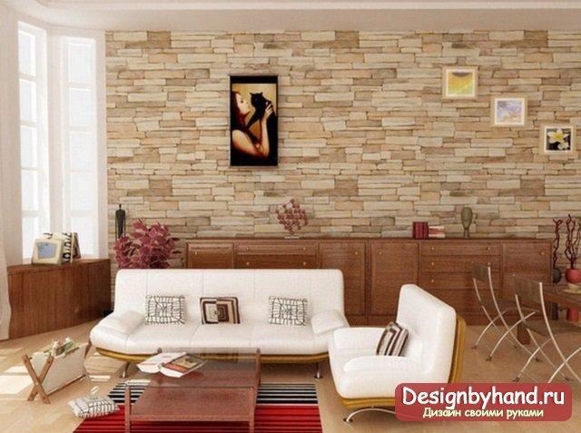 Декорирование стен: фото и идеи