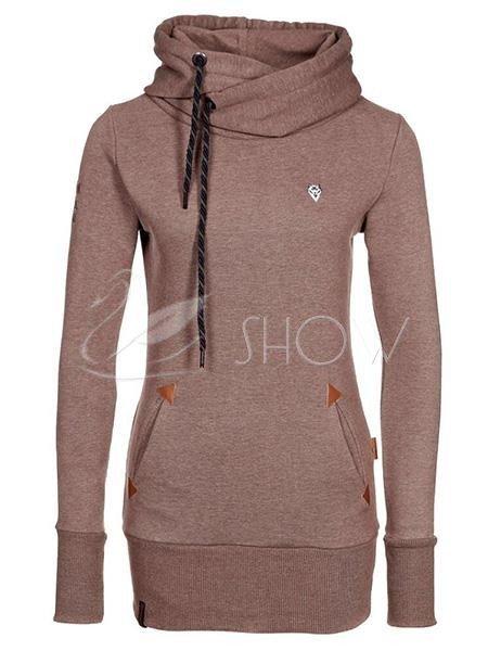 Дикие добавить кашемировый свитер длинный рукав женщин 11521282 - ОДЕЖДА - Swanshow.Com