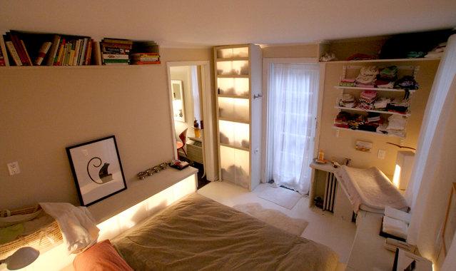 Дизайн однокомнатной квартиры: Современный стиль в маленькой однушке, 25 кв.м.