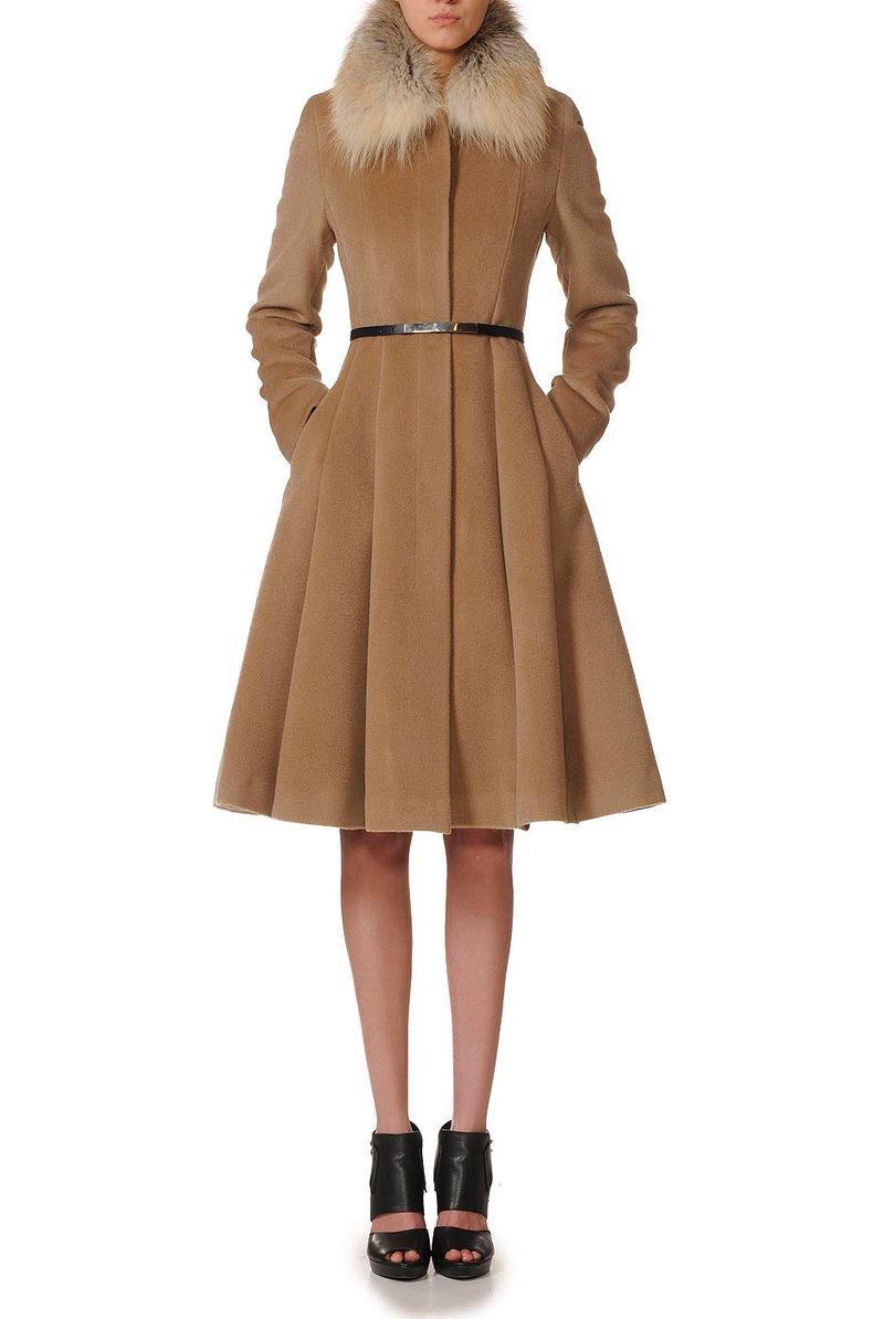 Дизайнерские стильные женские Пальто V141195S-899C82, VASSA&Co