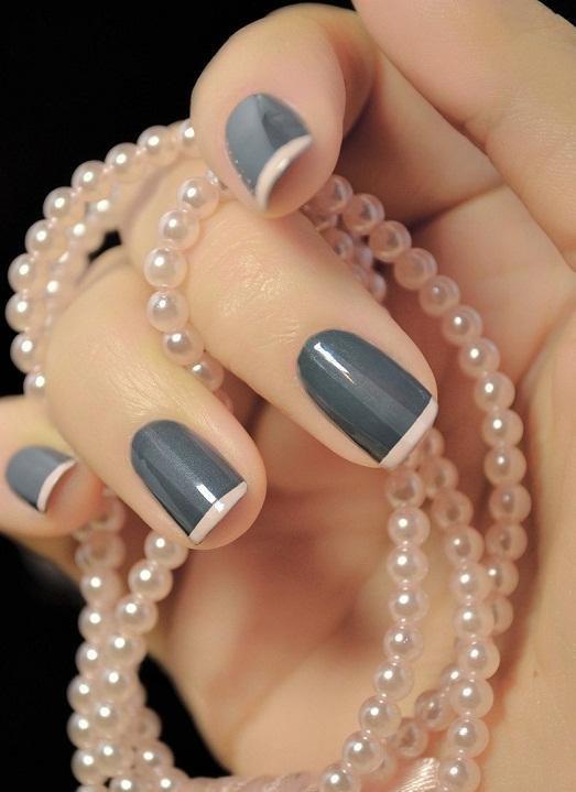 Для коротких ногтей
