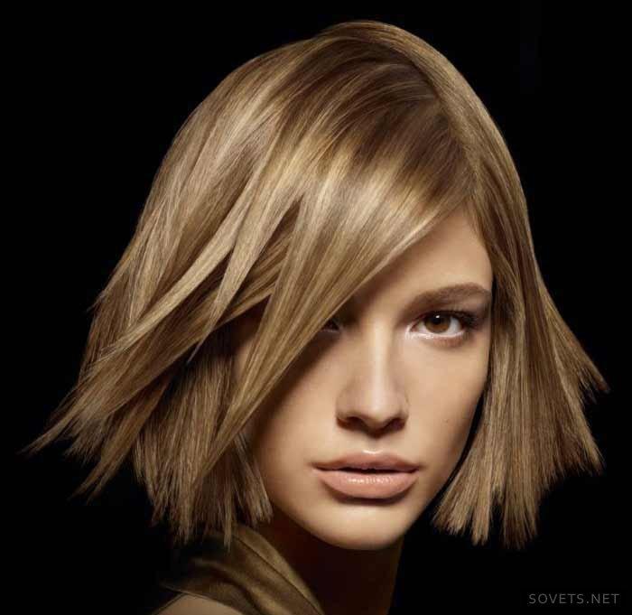 ежедневные прически на средние волосы