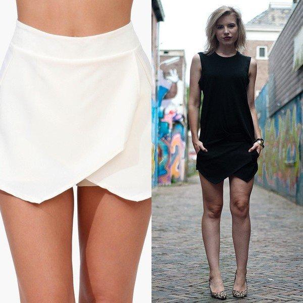 юбка-шорты на фото