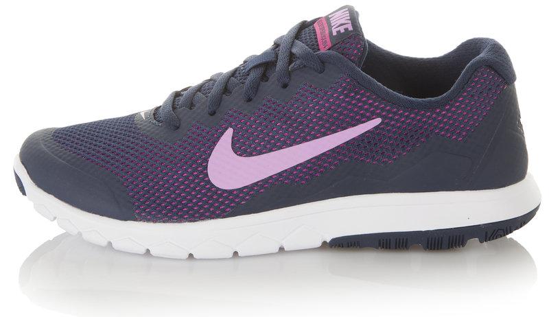 Кроссовки женские Nike Dual Fusion TR 3 Print серый цвет - купить за 1999 руб. в интернет-магазине Спортмастер