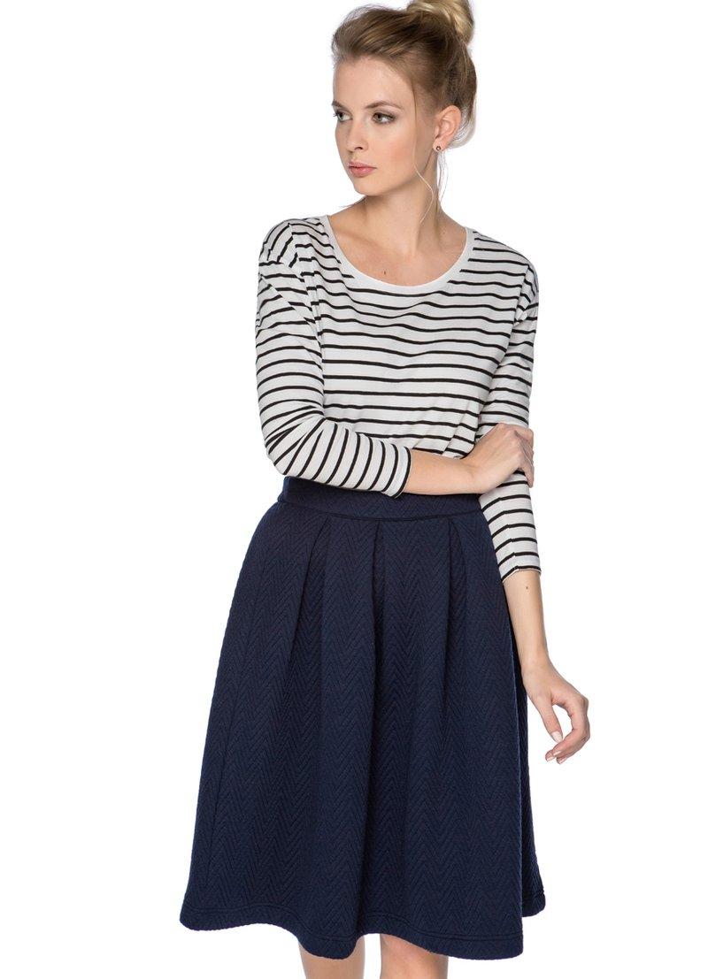 Купить ФУТБОЛКА В МОРСКУЮ ПОЛОСКУ (LT5O11) в интернет-магазине одежды O'STIN