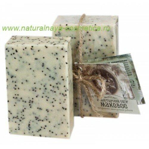 Купить мыло-скраб маковое Клеона в интернет магазине натуральной косметики Москва