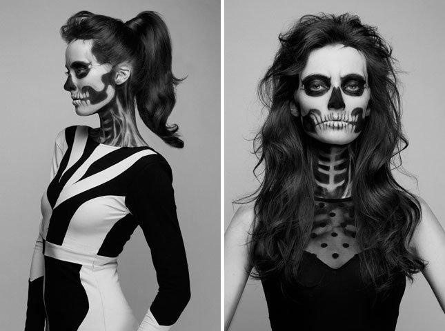 макияж на хэллоуин фото | Фотоархив