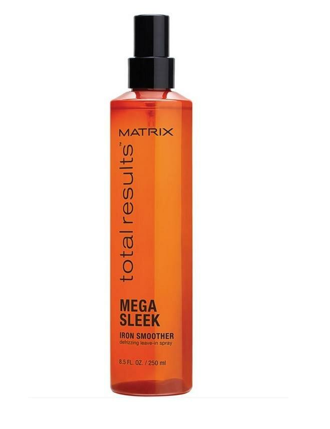 Matrix Total Results Mega Sleek Iron Smoother - Средство для разглаживания волос с термозащитой (250 мл)