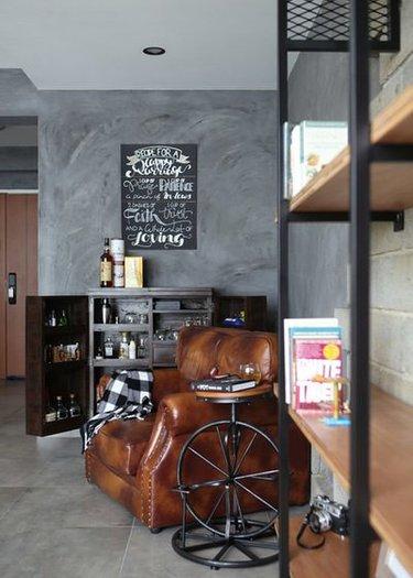 домашний мини-бар лофт