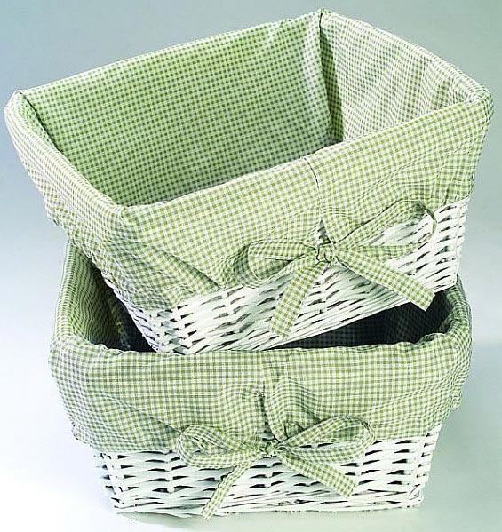 плетеные корзинки фото