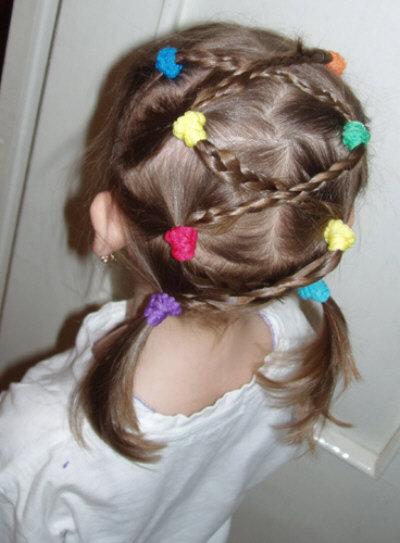 Прически для маленьких девочек - 5 способов