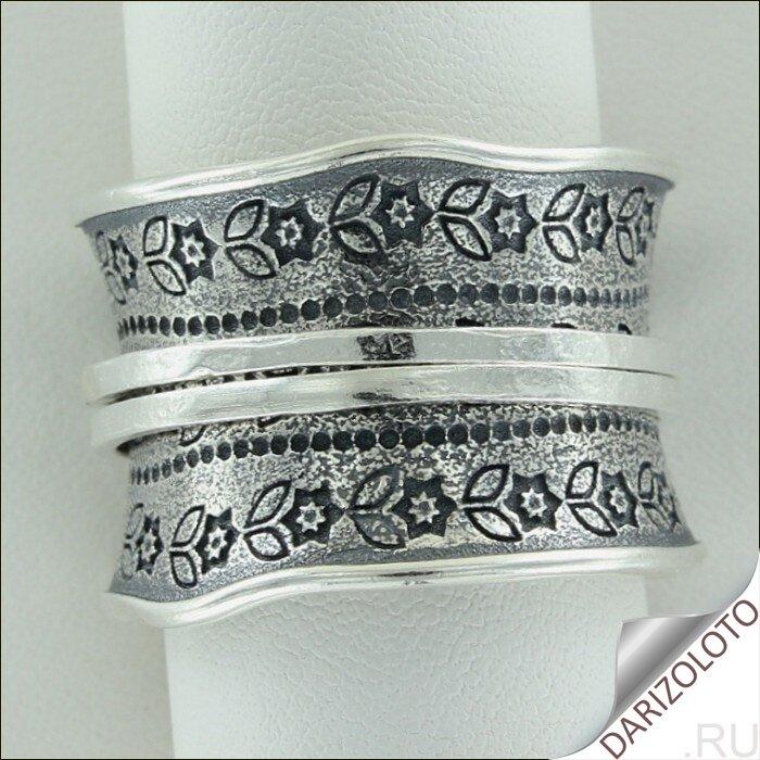 Серебряное кольцо. Цена и фото