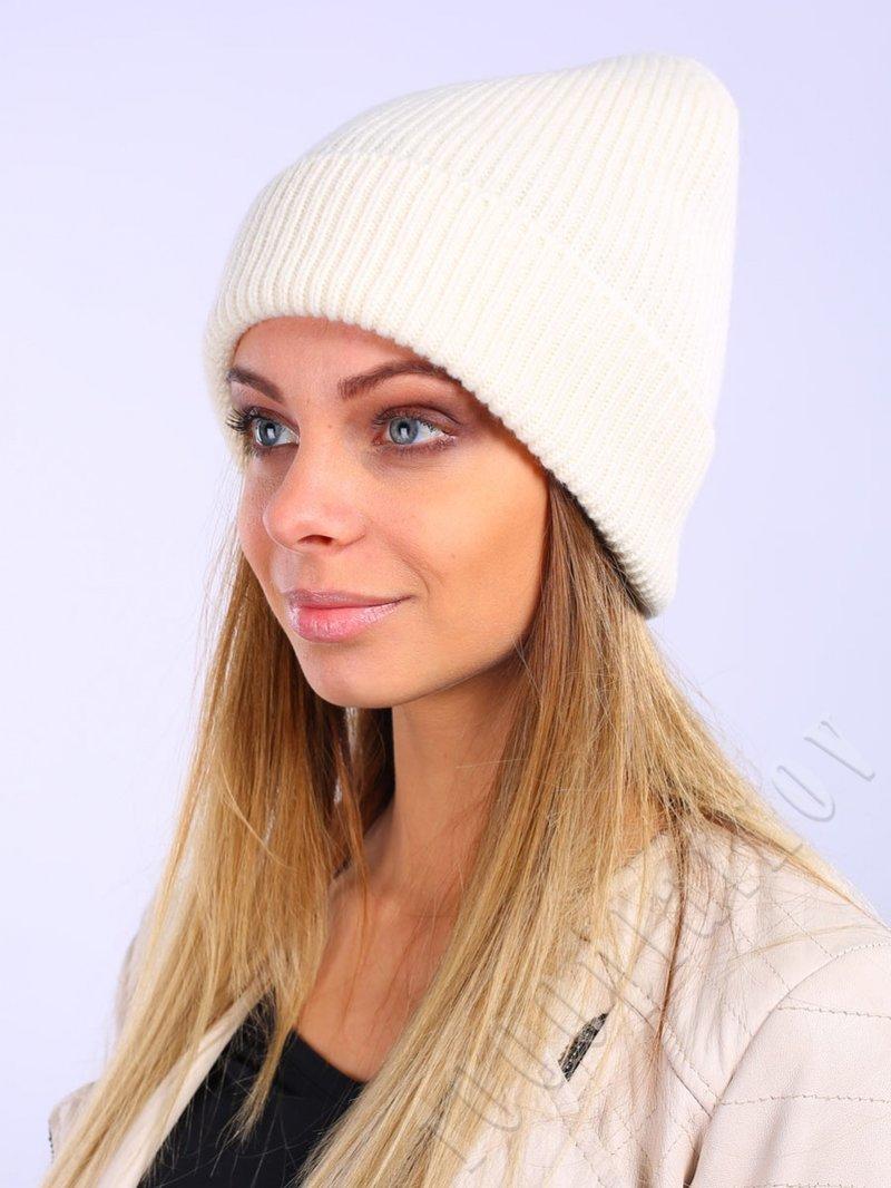 Шапка  (9806087-01), 80% шерсть 20% нейлон (Белый) купить по цене - 2 104 руб.