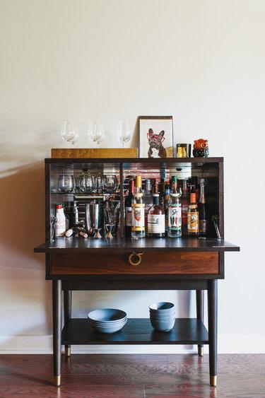 старинный мини бар