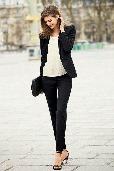 Стиль business casual в одежде деловой женщины