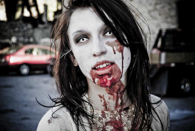 Страшный грим на Хэллоуин своими руками
