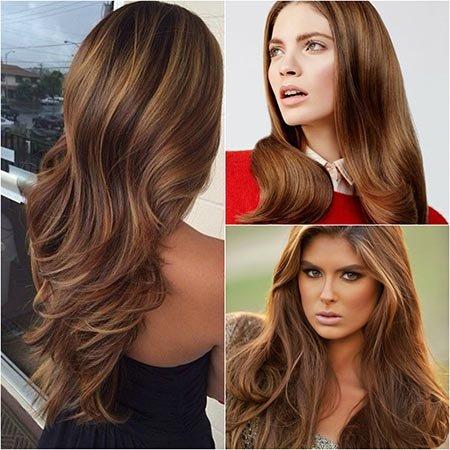светло каштановые волосы