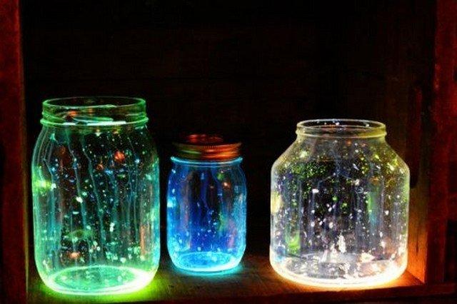 Светонакопительная краска поможет создать великолепные ночники