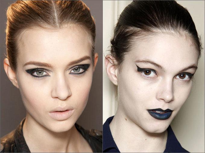 Тенденции в макияже. Стрелки |Осень-зима 2015-2016 на Fashion-fashion.ru