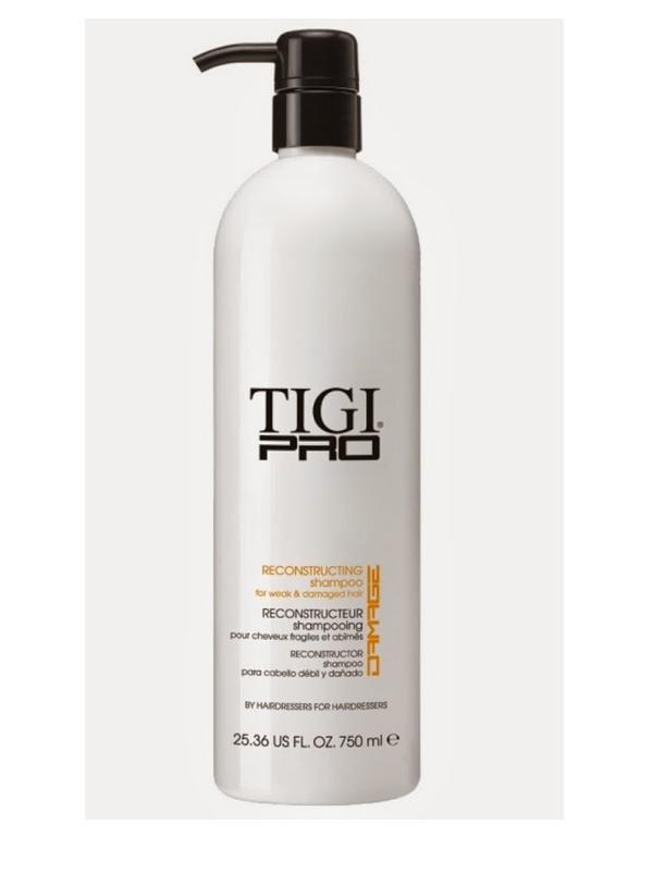 TIGI Pro Reconstructing Shampoo - Восстанавливающий шампунь для поврежденных волос (750 мл)