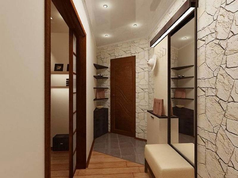 В квартире Дизайн коридора..