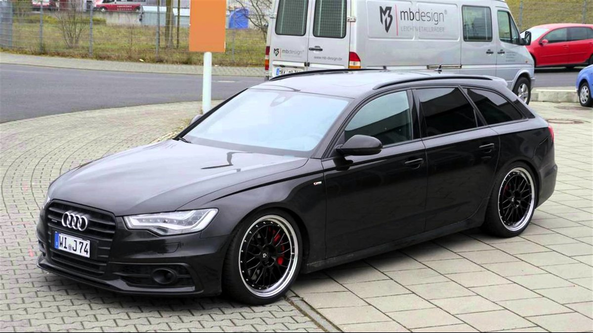 Quot Tuning Audi A6 Avant Quot Card From User Hudojnick001 In