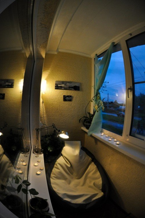 Маленькие балконы. Дизайн, интерьер, ремонт и мебель.