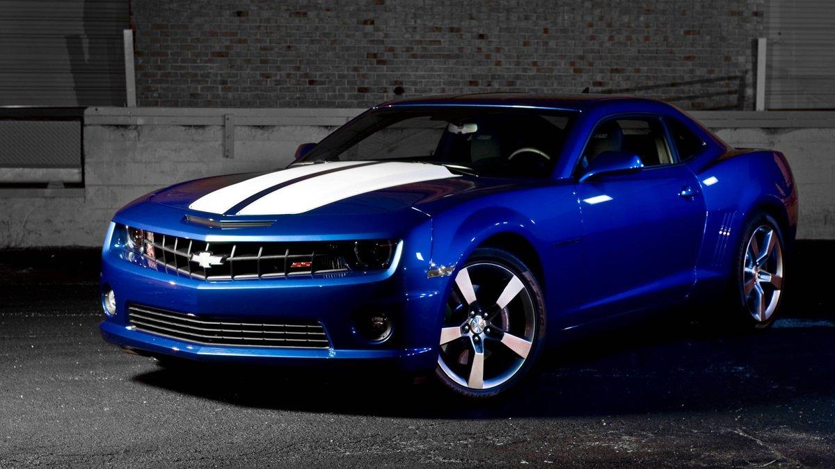 Blue Camaro Wallpaper 1920x1080 79412