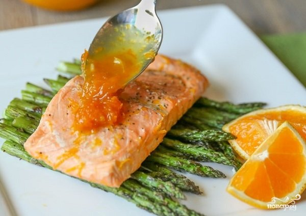Апельсиновый соус к рыбе рецепт с фото