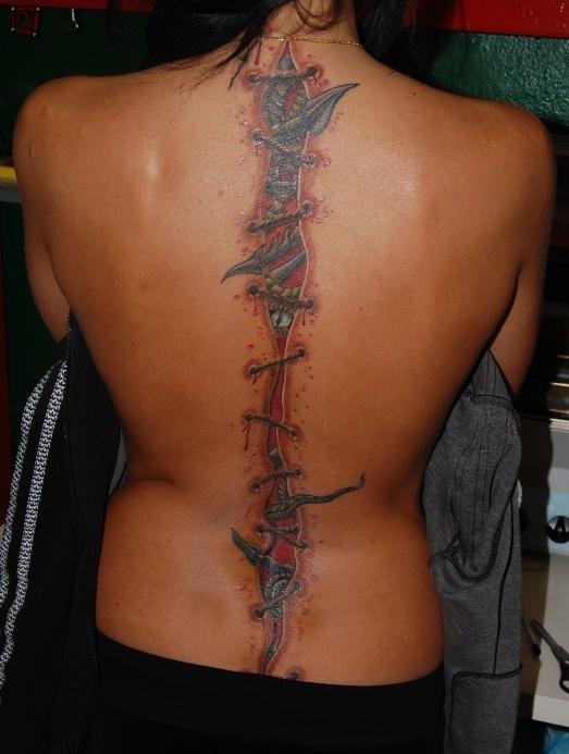 34 фото татуировок на женском теле