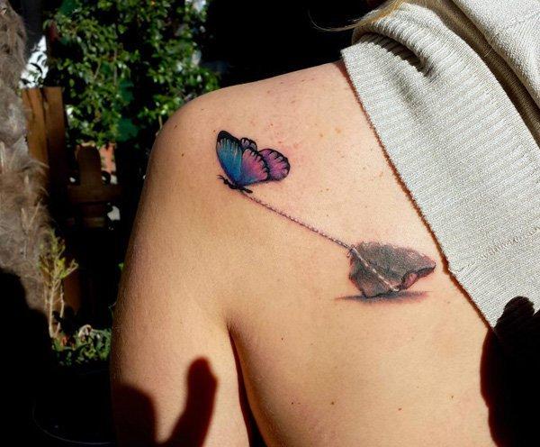 41 3D Butterfly Tattoo