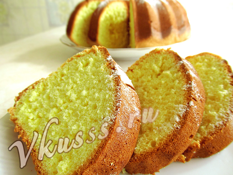 бисквит рецепт простой в духовке с фото
