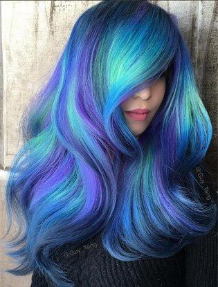 Бьюти-тренд: разноцветные волосы, Marie Claire