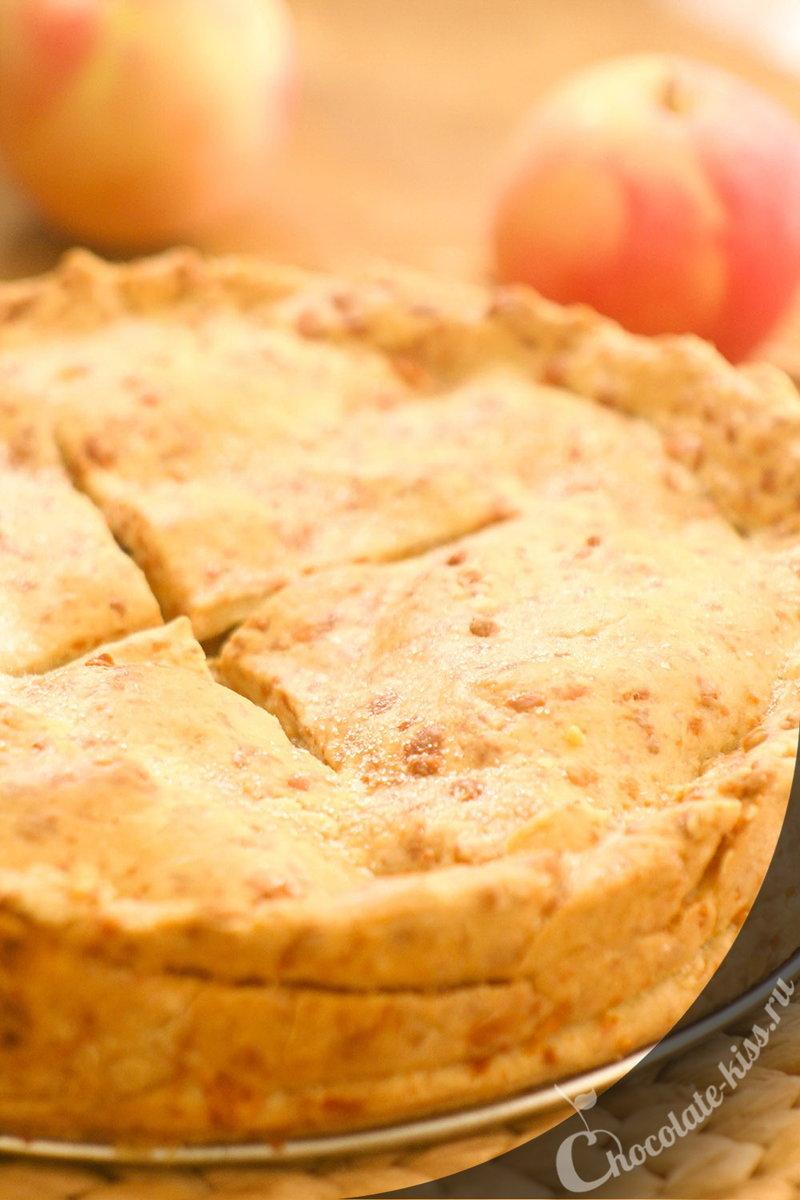 Американский яблочный пирог с сыром