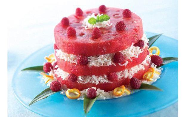 Арбузный торт рецепт
