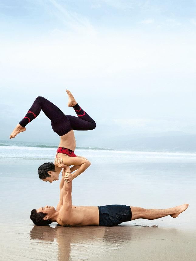Батут, акройога, Antigravity, TRX: воздушные тренировки – новая мода в фитнесе |Glamour | Glamour.ru