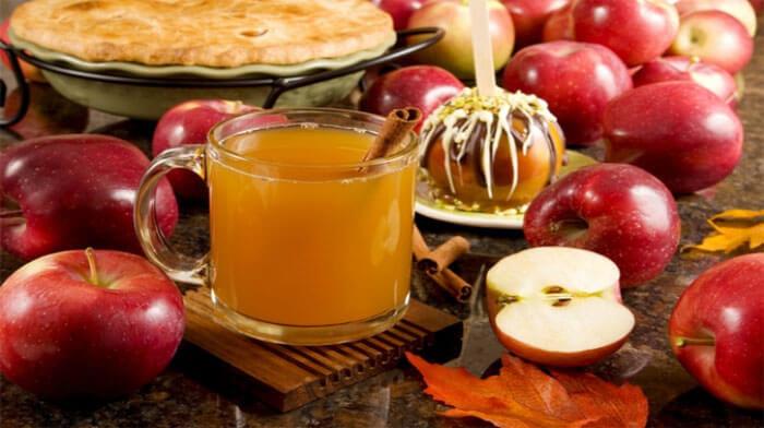 Безалкогольный яблочный сидр