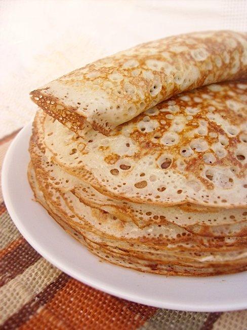 Рисовые блины рецепт с фото