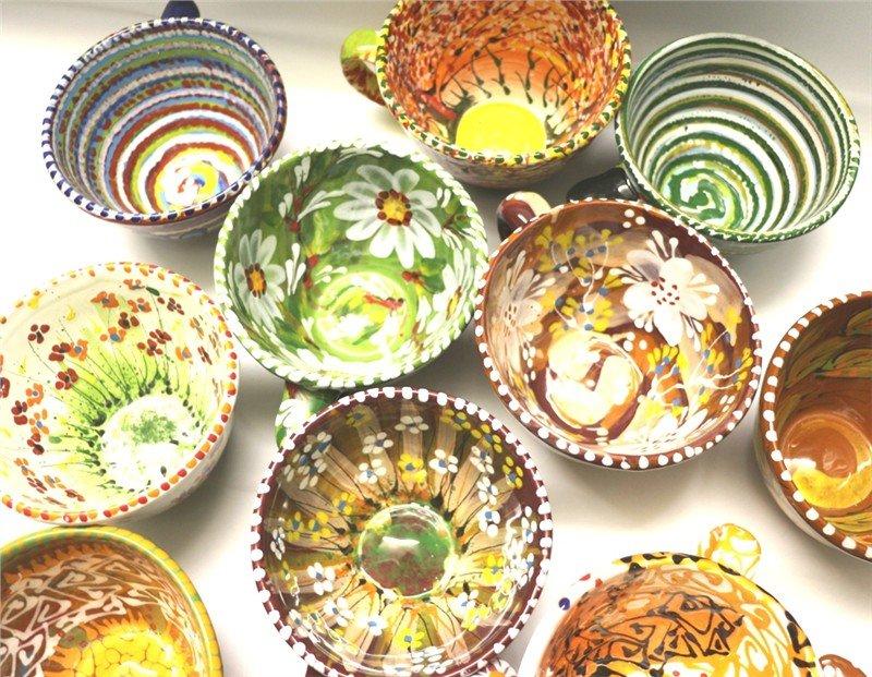 Чашки керамические расписные купить недорого в интернет-магазине Podaro4ek: цена, отзывы, фото.