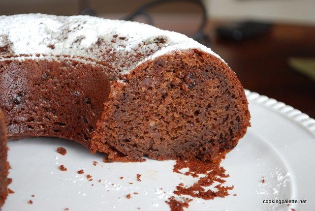 декадентский шоколадный кекс