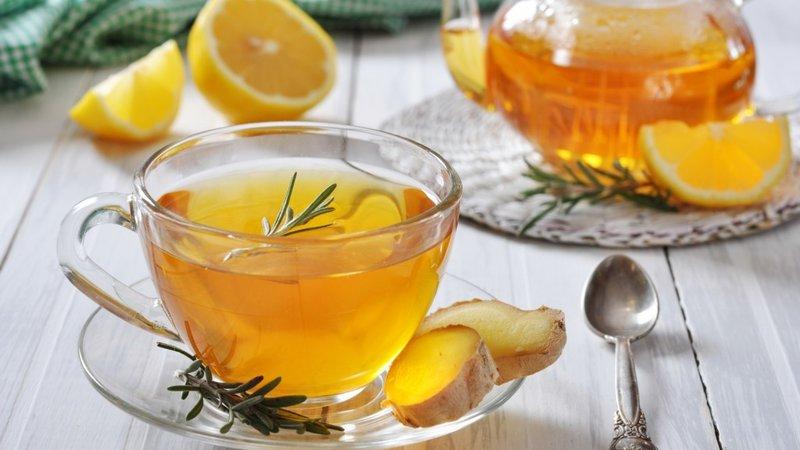 домашний имбирный чай