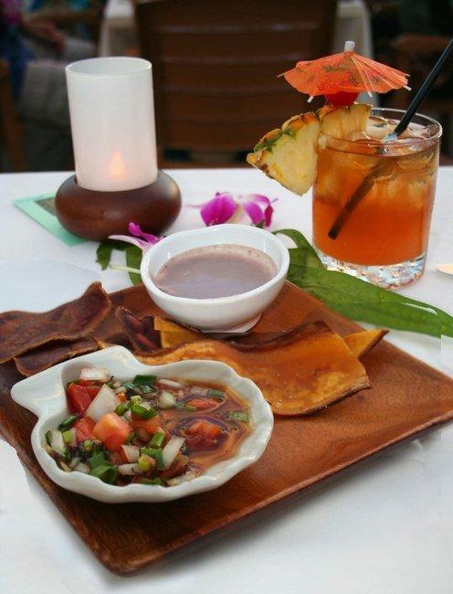 Гавайское национальное блюдо «Пои»