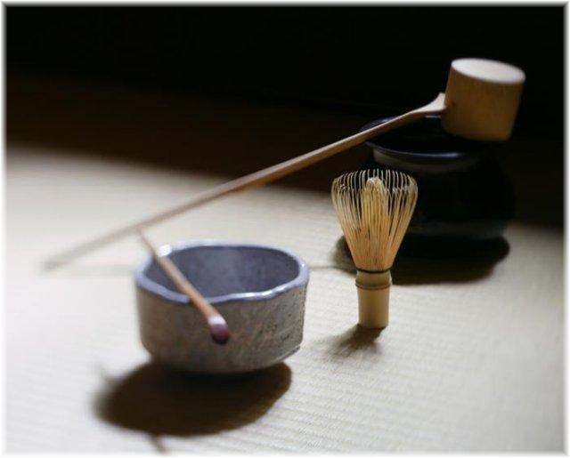 Японская чайная церемония. Совершенно потрясающая трактовка.    - 日本