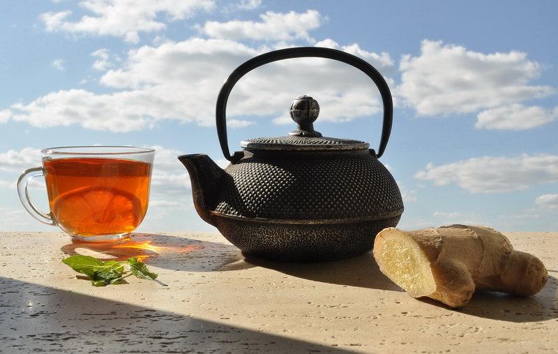Имбирный чай с лимоном | Заварка по-киевски