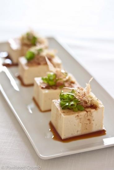 Холодный салат с тофу