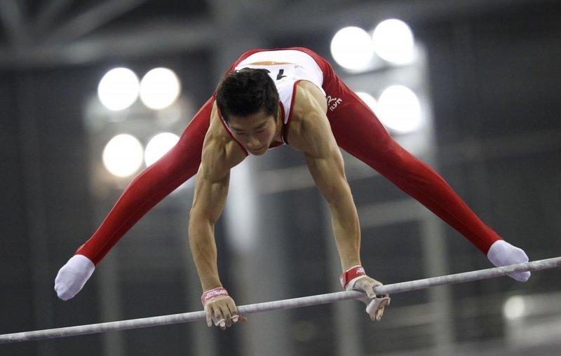 Художественная гимнастика на Азиатских играх 2010. Фото 8