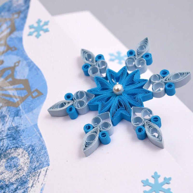 Квиллинг к Новому году. Квиллинг: открытки, снеговики, елочные игрушки, новогодние елки, символ 2015 года | вТему